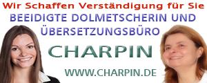 Charpin Übersetzungsbüro- Wir schaffen Verständigung